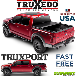 Truxedo Truxport Soft Roll Up Tonneau Cover Fits 2015 2019 Ford F 150 5 7 Bed Ebay