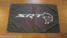 NEW SRT HELLCAT FLAG BANNER 3X5FT FOR  DODGE CHALLENGER CHARGER 707HP VIPER