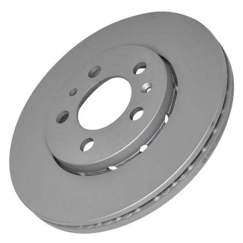 Bosch 0986 478 853 2x Brake Disc Set Pair Externally Vented Audi Seat Skoda VW