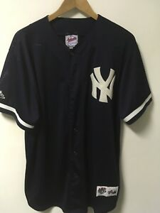 MAJESTIC-New-York-Yankees-Diamond-Collection-MLB-Jersey-Men-039-s-L