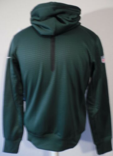 con Performance 91207763331 Msrp para Jets New Sideline Nike Sudadera hombre Green Nwt capucha S Ko York 80 64XqxwP