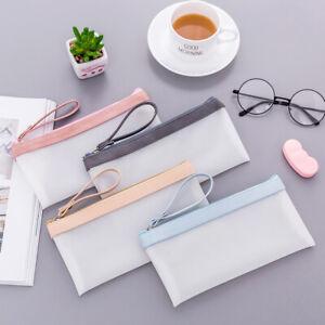 ITS-CO-Translucent-Jelly-Glue-Pencil-Case-Pen-Pouch-Stationery-Storage-Zipper