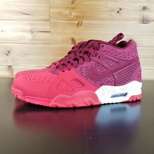 577f2000202f Nike Air Trainer 3 LE Men s Shoes Team Red University White 815758 ...