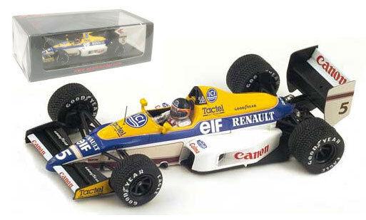 venta al por mayor barato Spark Spark Spark S4322 Williams FW12C Winner Canadian GP 1989 - Thierry Boutsen 1 43 Scale  nueva gama alta exclusiva