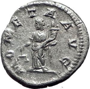 CARACALLA-213AD-Silver-Authentic-Genuine-Ancient-Roman-Coin-MONETA-i65088