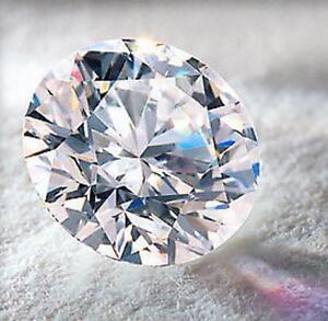.75ct BRILLIANT LAB GROWN Diamond Simulant 6mm ROUND