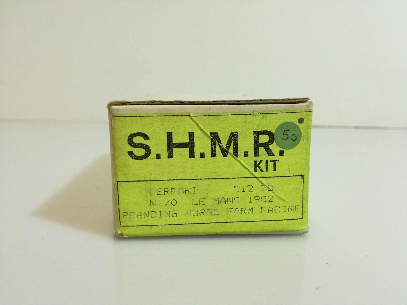 varie dimensioni SHMR  Kit monté 1 43 - Ferrari 512 BB BB BB  N°70 Le uomos 1982  vendita di fama mondiale online