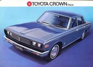 Image Is Loading Toyota Crown Deluxe 1971 Swiss Market S Brochure