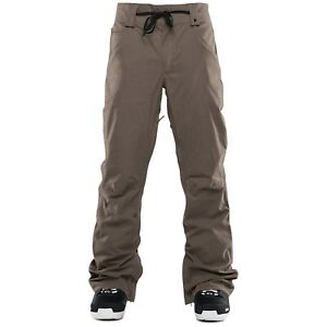 2017-NWT-MENS-THIRTYTWO-WOODERSON-SNOW-PANTS-XL-ash-mid-fit