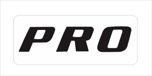 PRO Decal Sticker STIHL Chainsaw Vinyl Car Bumper Window Hard Hat Decor