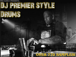 Details about DJ Premier Style Drum Kits Over 700 Samples! - Hip Hop Rap  Drums -  wav Download