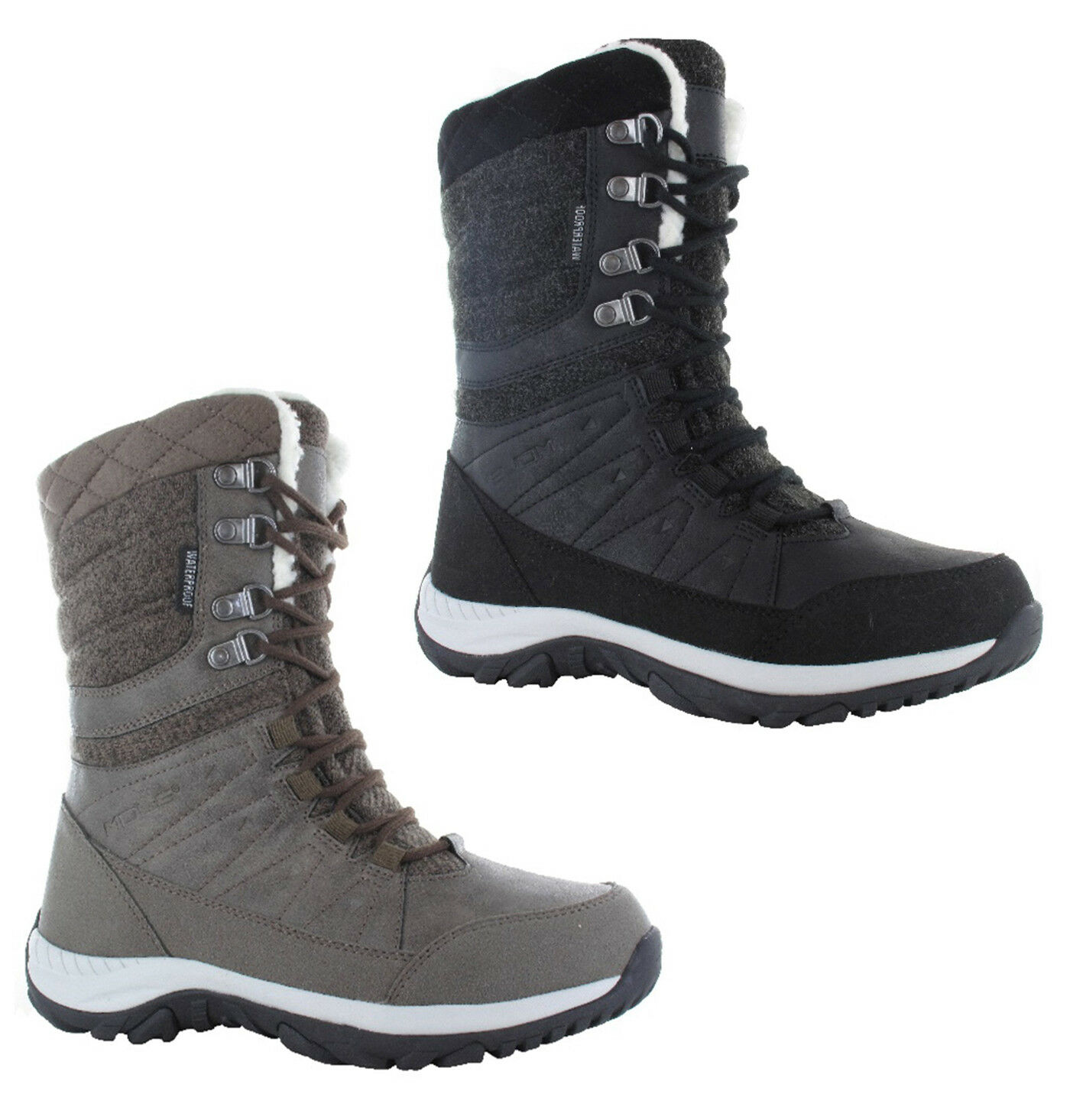 Hi-Tec Riva Waterproof Womens Walking Hiking Boots UK4-8