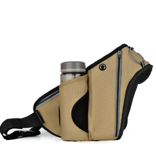Waist Bag Running Bag Outdoor Sport Fanny Bag Waterproof Zipper Belt Pouch