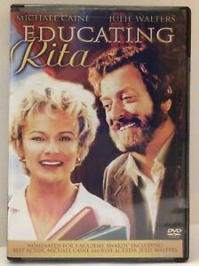 Educating-Rita-DVD-Julie-Walters-Michael-Caine-FACTORY-SEALED-R1-NTSC