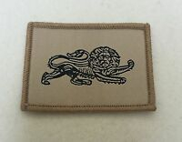 Duke of Lancasters New TRF, Lion Patch, Army MTP, Military, Lancs, DOL, Beige