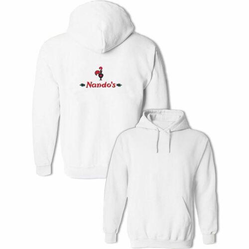 NANDO/'S Chicken Nandos Print Sweatshirt Unisex Hoodies Graphic Hoody Hooded Tops