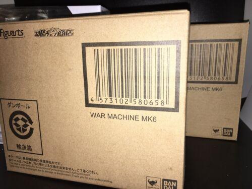 SH Figuarts War Machine Mk 6 AVENGERS End Game US Vendeur en stock dernier!!!
