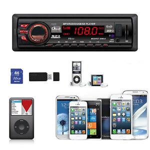 In-Dash Car Bluetooth Stereo Aux Input USB/SD/FM MP3 Radio Player 8268 Top Sale