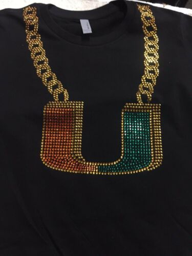 Miami Turnover chain Next level unisex t-shirt crew neck