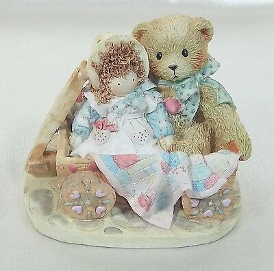Cherished Teddies Figurine MOLLY  Friendship softens a Bumpy Priscilla Hillman