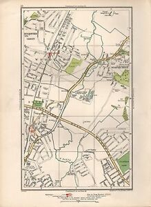 4620ef9b51f5 1936 LARGE SCALE MAP - LONDON WOODFORD SOUTH WOODFORD CLAYHALL PARK ...
