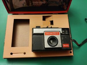 Vintage Sears 126-X Easy Load Color Outfit Camera,Parts/Repair