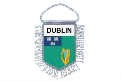 Pins & Anstecknadeln Wimpel Mini Flagge Land Auto Dekoration Irland Dublin