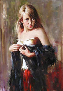 ZOPT625-hand-painted-long-straight-hair-girl-portrait-oil-painting-art-on-canvas