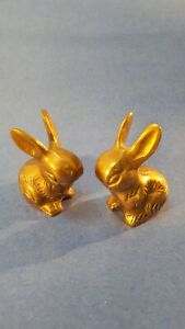2-solid-brass-bunny-rabbits-handcrafted-in-India-Northcraft