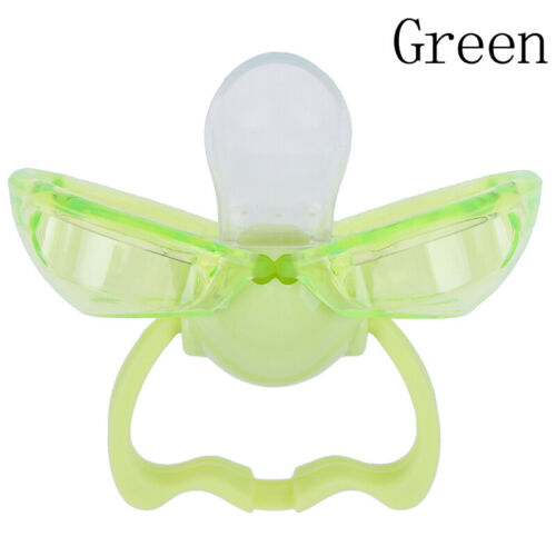 1X Dustproof silicone baby thumb pacifier automatically closed baby nipple care/'