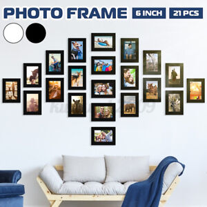 21 Multi Photos Picture Frame Collage Memories Wall Mount Hanging Home Decor