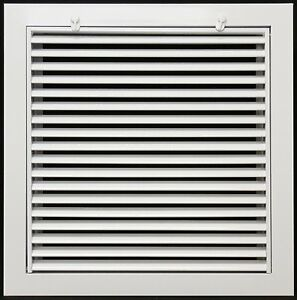 12 Quot X 12 Quot Return Air Filter Grille With Filter Included Ebay