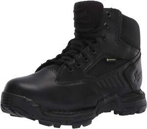 "Danner Men's StrikerBolt Side-Zip 6"" Military and Tactical Boot, Black, Size"