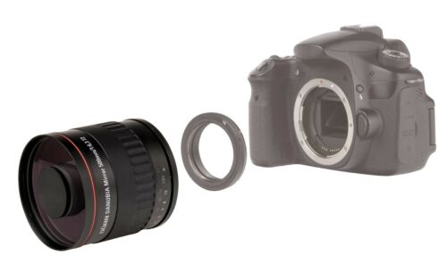 Dörr spiegeltele teleobjetivo 500mm 6,3 para Nikon d3400 d3300 d3200 d3100 nuevo!