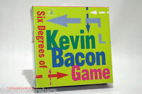 Six Degrees Of Kevin Bacon Game 1997 Brand (read Description)