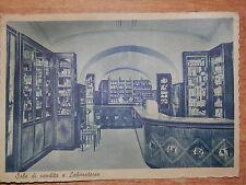 CARTOLINA vecchia foto d epoca FARMACIA DE LUCIA NAPOLI ROCCASALVA Laboratorio e