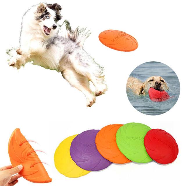 2X FRISBEE FLYING DISC RING OUTDOOR TOY KIDS BEACH GARDEN DOG PUPPY GAME