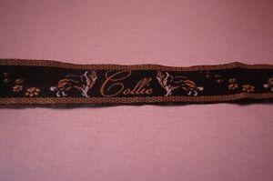 Borte,Webband 2270 Border Collie Eigenproduktion 22mm Breite Ripsband