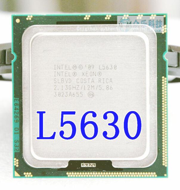 2PC Intel Xeon L5630 2.13 GHz 12 MB 5.86GT/s SLBVD LGA 1366 Desktop Processor