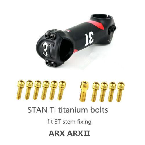 STAN Ti Titanium Bolts Fit For 3T ARX ARXⅡ Stem Fixing Bolts