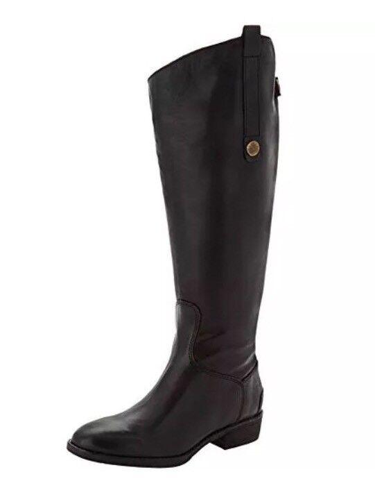Sam Edelman Women's Black Penny Wide Calf Boots 3208* Size 37 EUR
