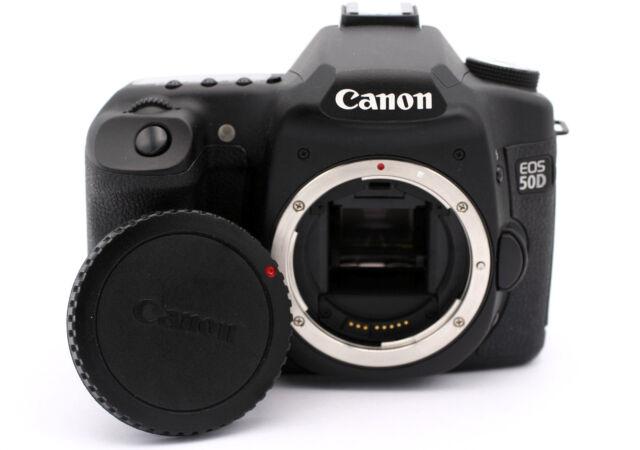 Canon EOS 50D 15 1MP Digital SLR Camera - Black (Body Only)
