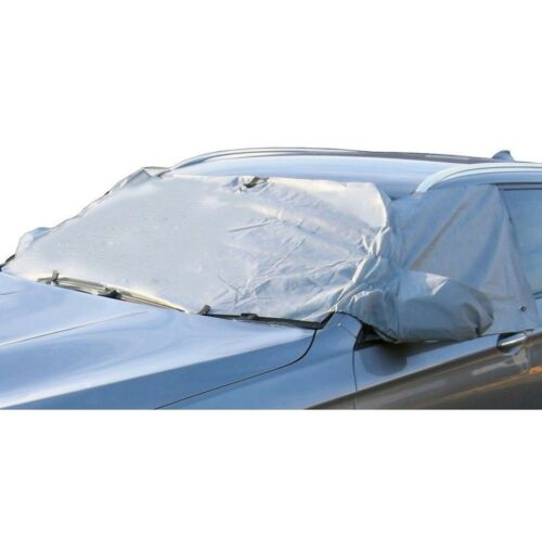 Audi A6 04 on WINDSCREEN FROST ICE SNOW PROTECTOR MIRRORS COVER CAR