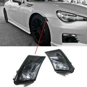 Amazing Image Is Loading JDM Crystal Smoke Front Bumper Side Marker Lights