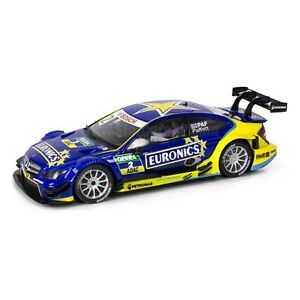 Coche-Scalextric-Mercedes-C-Coupe-AMG-Paffet-Euronics-SCX-Slot-Car-1-32-A10214