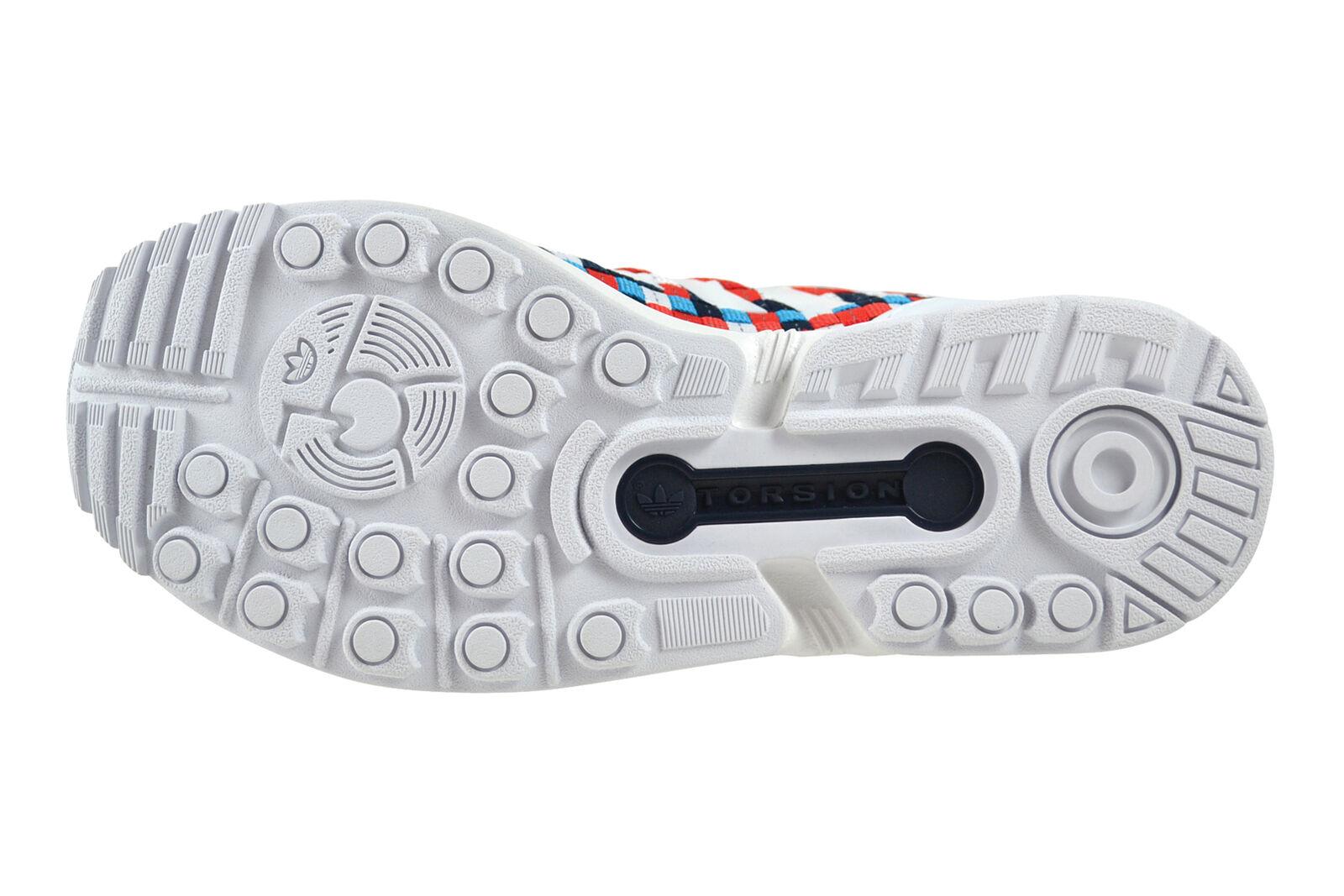 Adidas ZX Flux Weiß Weiß Weiß Blau rot Turnschuhe Schuhe mehrfarbig S82750 2ffff7