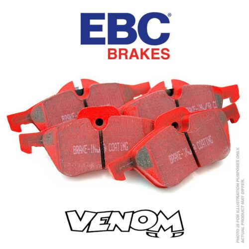 E46 EBC Redstuff Arrière Plaquettes de frein pour BMW 325 3 Série 2.5 2000-2007 DP31289C