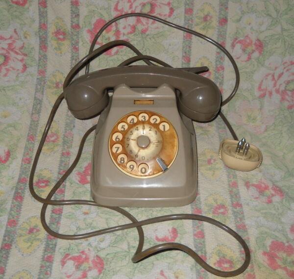 Il Migliore Sip Telefono A Disco Vintage (colore Grigio) , 9263 Aa , F.63 , Facestandard
