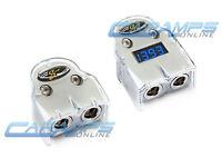 Stinger 1/0 Or 4 Gauge Awg Car Positive & Negative Battery Terminal Clamp Set on sale