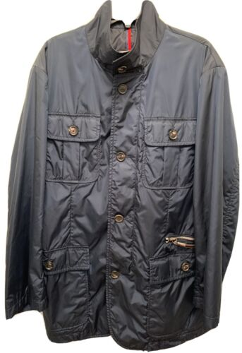 Moncler Navy Blue Military Field Jacket, Size 3, S